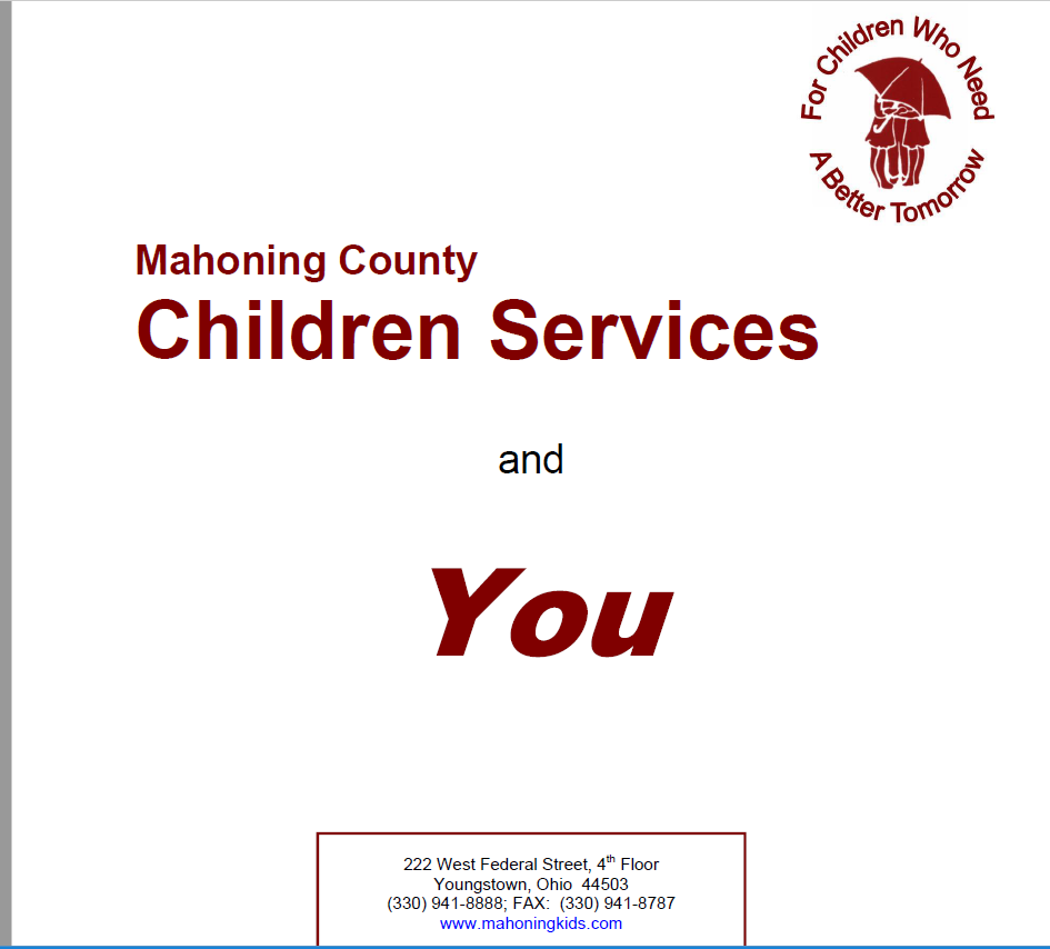 Brochure | Mahoning County Children Services